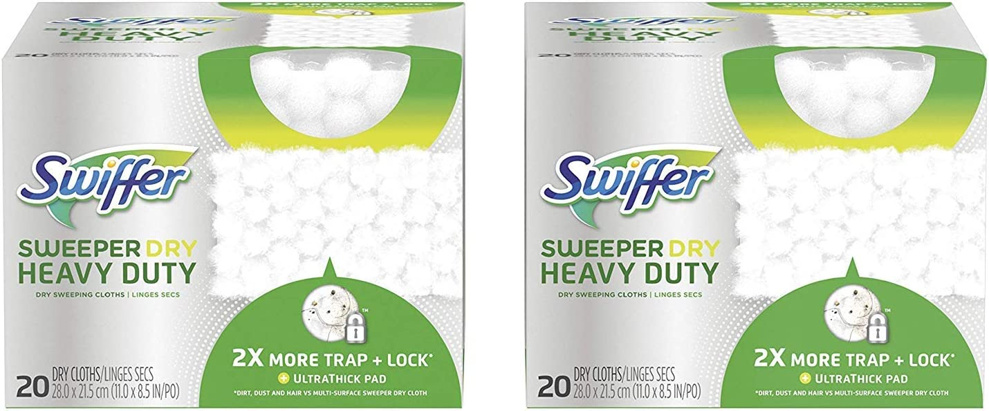 1 Pack Swiffer Heavy Duty Refills 11 Count