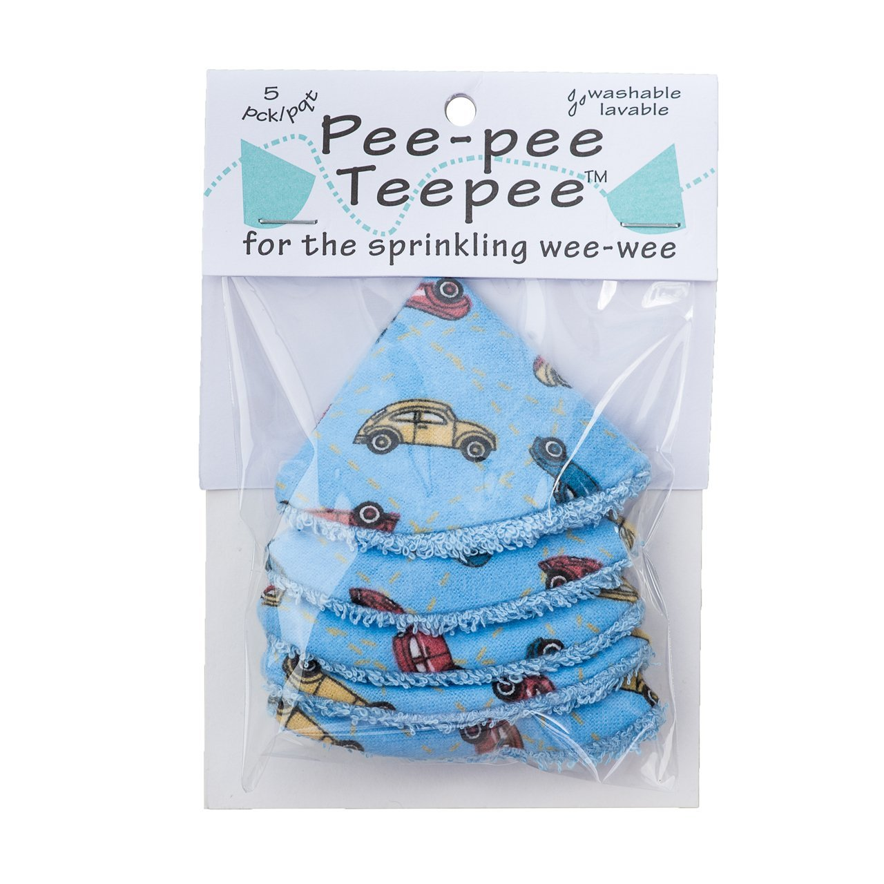 Pee-pee Teepee Cars Blue - Cello Bag Beba Bean PT3012-3