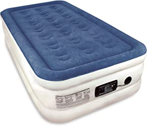 SoundAsleep Raised Twin Size Premium Air Mattress