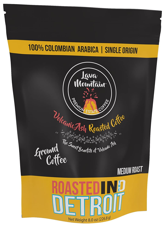 Lava Mountain Single Origin Colombia 8 oz Ground Coffee, Medium Roast Image