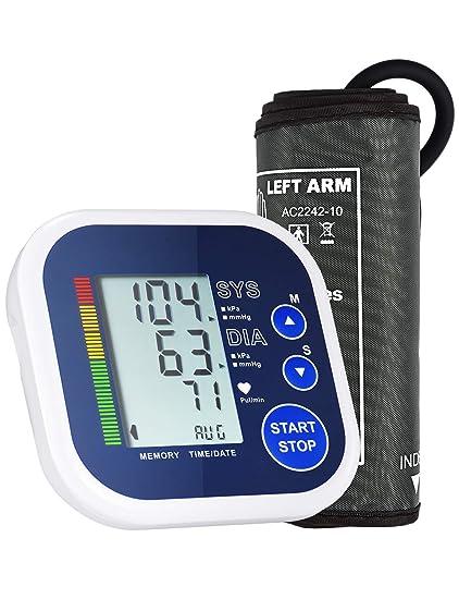 Mpow Tensiómetro de brazo electrónico automático digital con ...