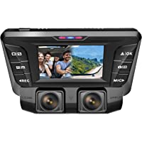 Pruveeo C2 1080P+FHD Dual Camera DVR Dash Cam (Black)