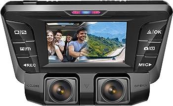 Pruveeo C2 1080P+FHD Dual Camera DVR Dash Cam