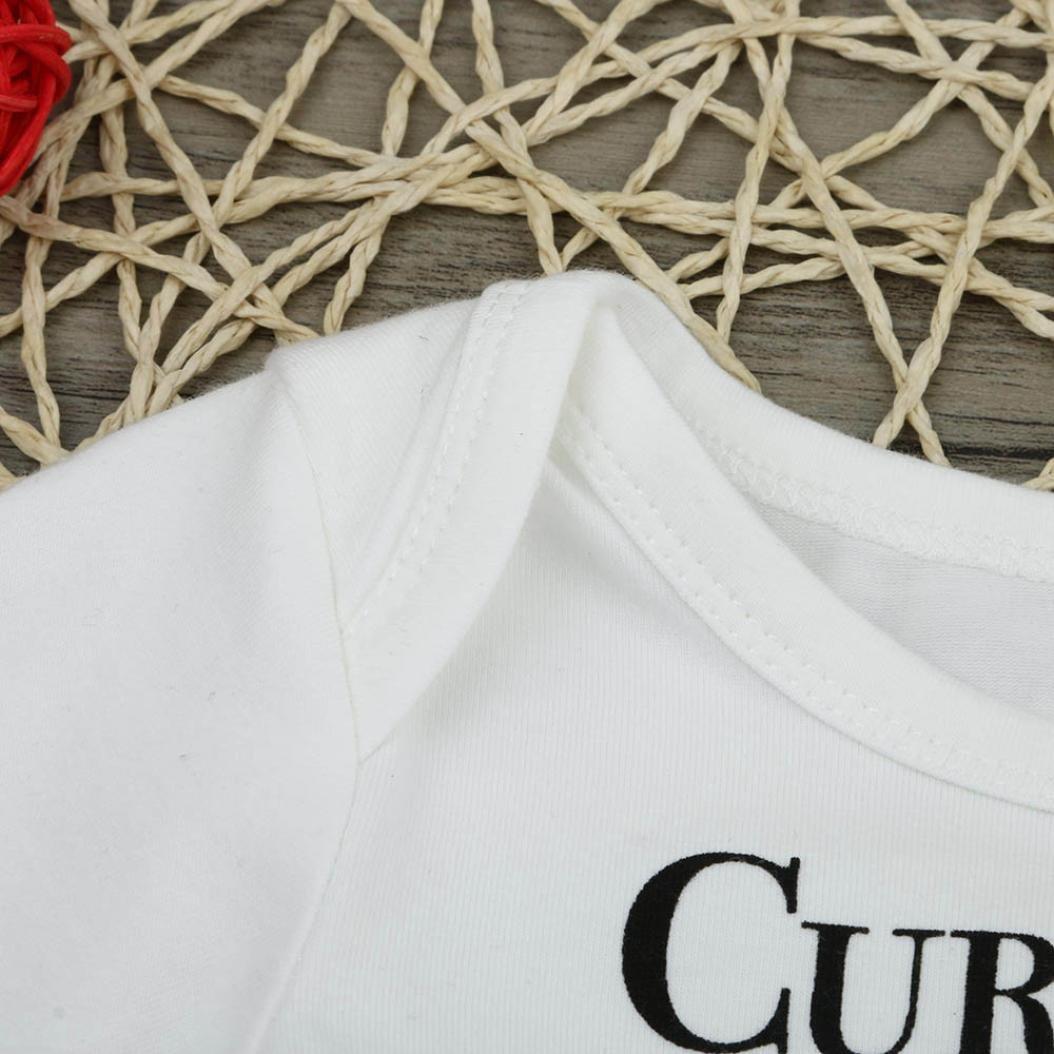 Camouflage Hosen Set Omiky/® Neugeborene Kinder Baby Jungen Outfits Kleidung Brief T-Shirt Tops