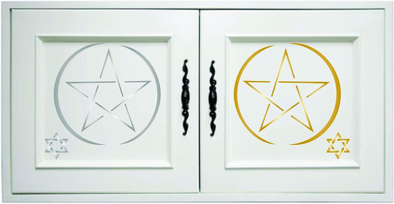 S Star Of David Stencil - Religious Jewish Magen David Stencils 8.26 x 8.26 cm