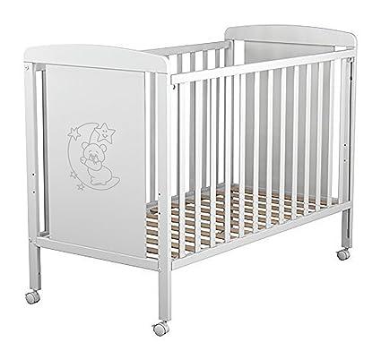 Cuna para bebé, modelo Oso Dormilón. Incluido el colchón (regalo ...