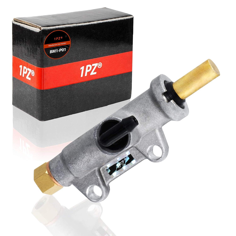 1PZ BM1-P01 Rear Brake Master Cylinder for Polaris Sportsman 335 400 450 500 600 700 800 Magnum 325 330 500 Scrambler 400 500 Trail Blazer 250 330 400 700 MV 800 MV7 Worker 500//335 Diesel 1910301 1911