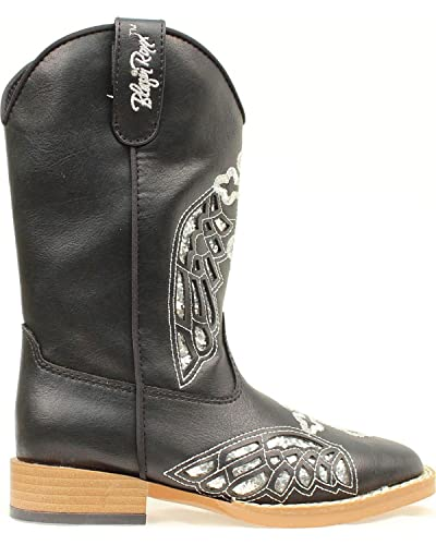 54b51a3a4a5 Blazin Roxx Girl's Gracie Side Zip Boots, Man Made