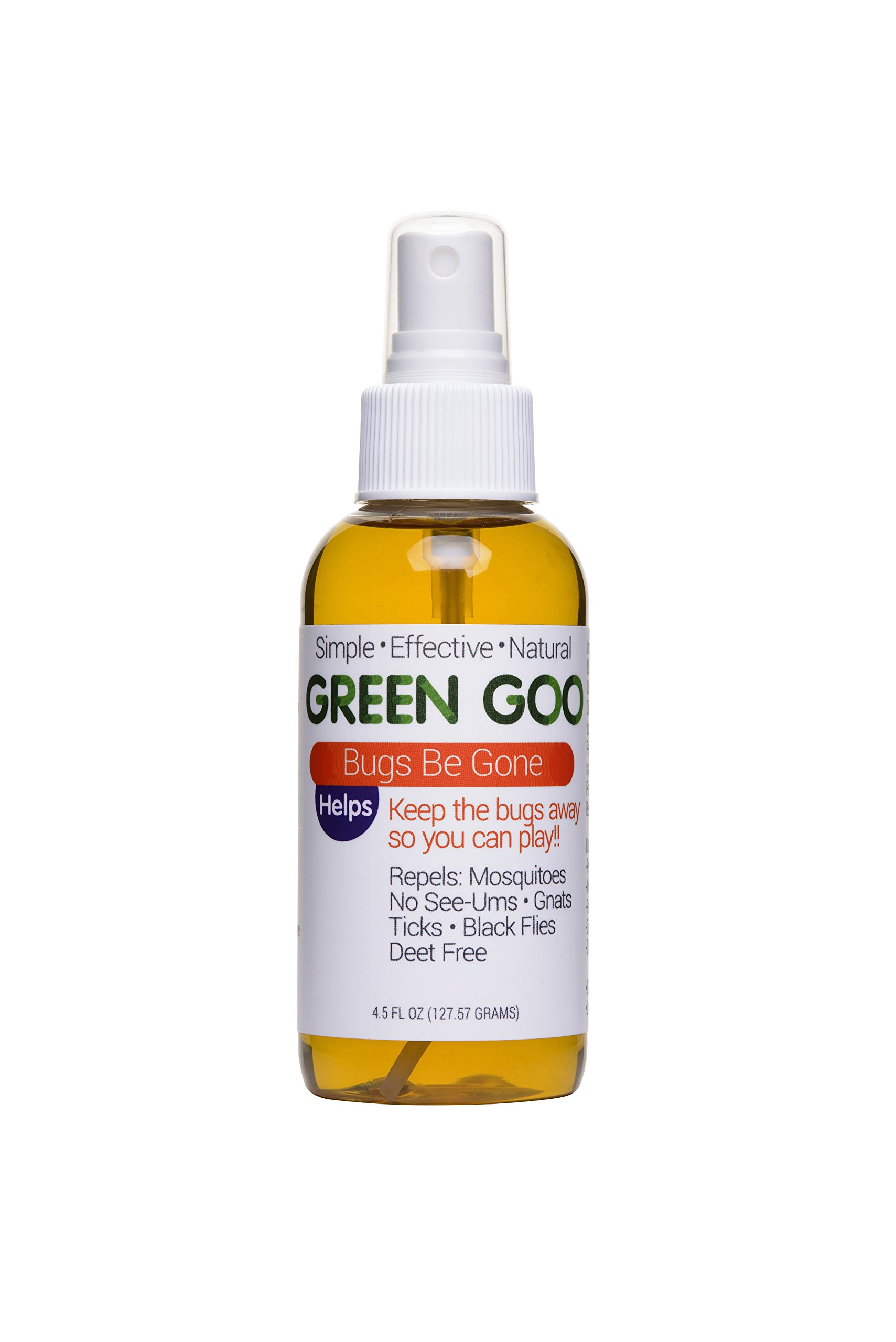 Green Goo Bugs Be Gone Insect Repellant (4.5 oz, 1 Pack)