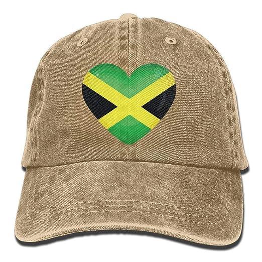 f9e3d5d3c2d Amazon.com  ji jing Jamaican Flag Heart Cliparts Unisex Sport ...