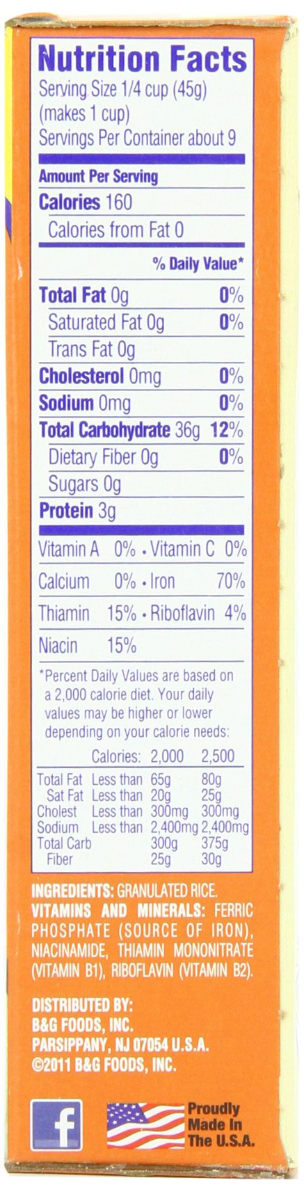 Cream of Rice, Hot Cereal, 14 Ounce (Pack of 12) by Cream of Rice (Image #3)