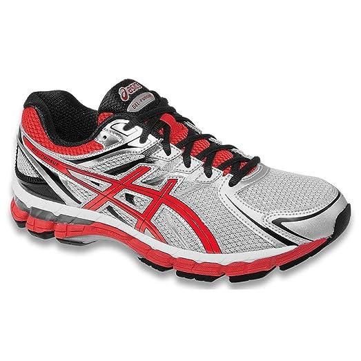 2014/15 Men's Gel-Pursue Running Shoe - T448N (Lightning/Flame/Black - 9)