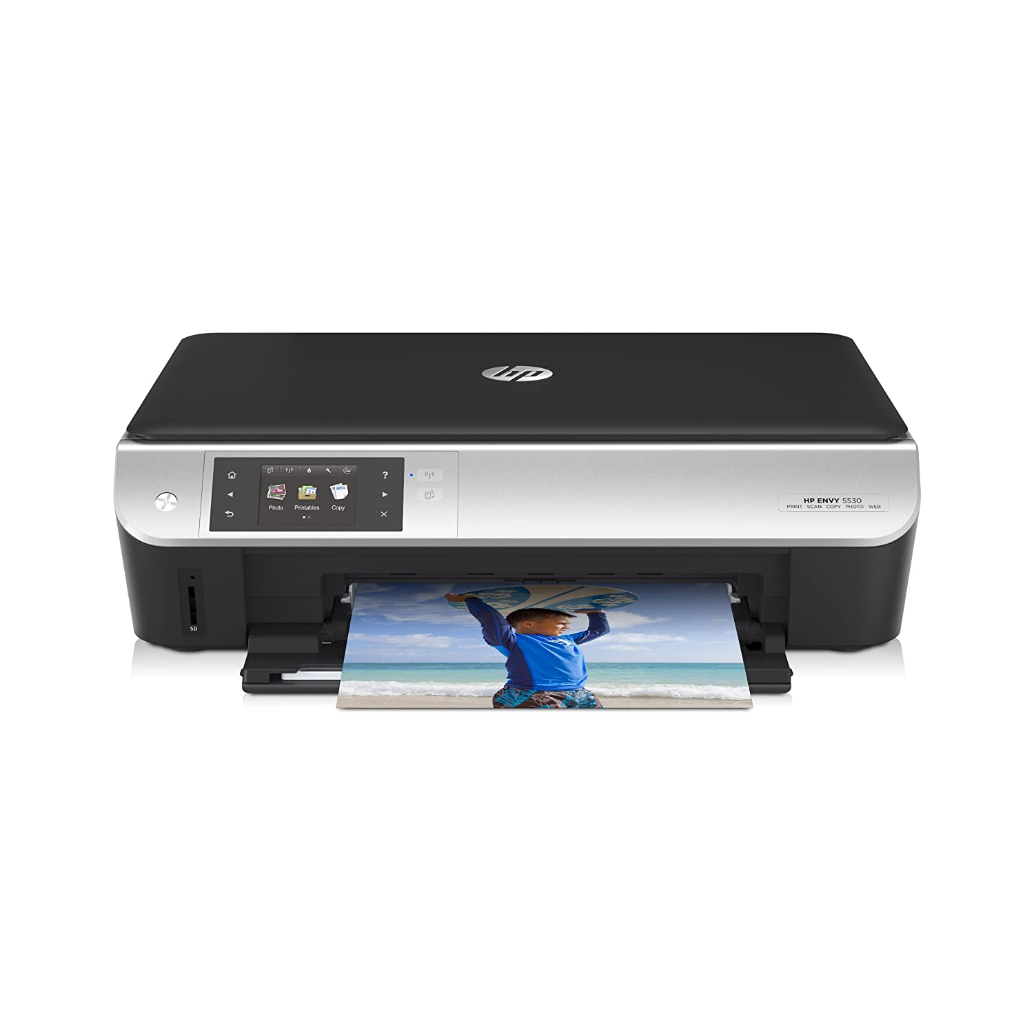 Color printouts in hyderabad - Amazon Com Hp Envy 5530 Wireless All In One Photo Printer With Mobile Printing Instant Ink Ready A9j40a Electronics