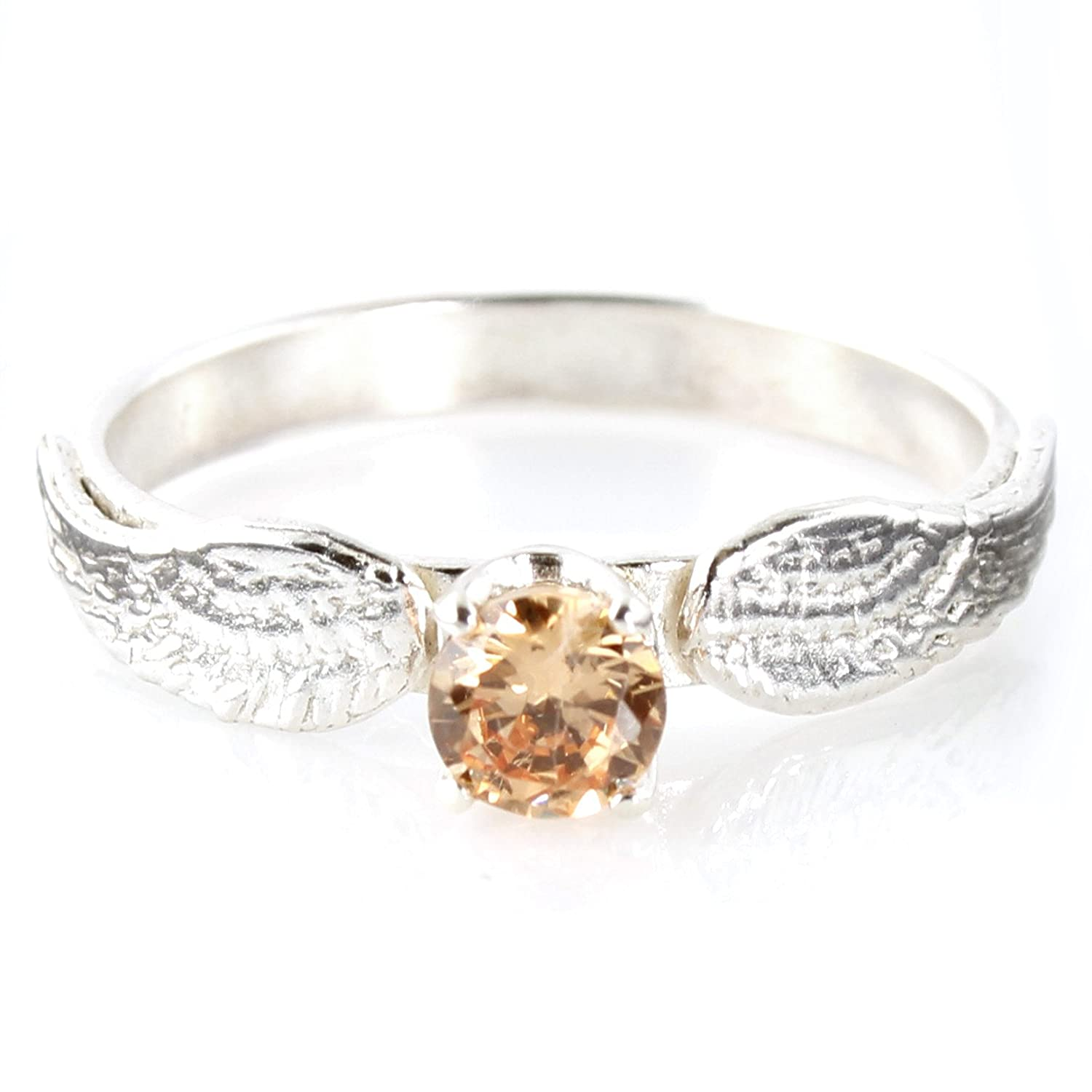 rings with picture photo golden engagement stock diamond and