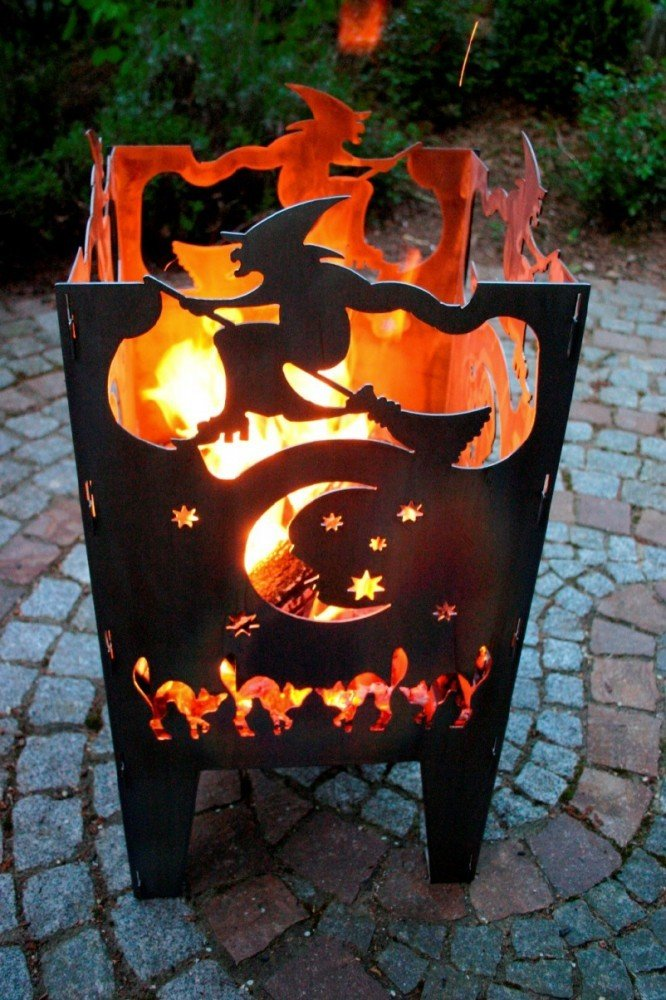 Feuerkorb Witch aus Edelstahl SvenskaV
