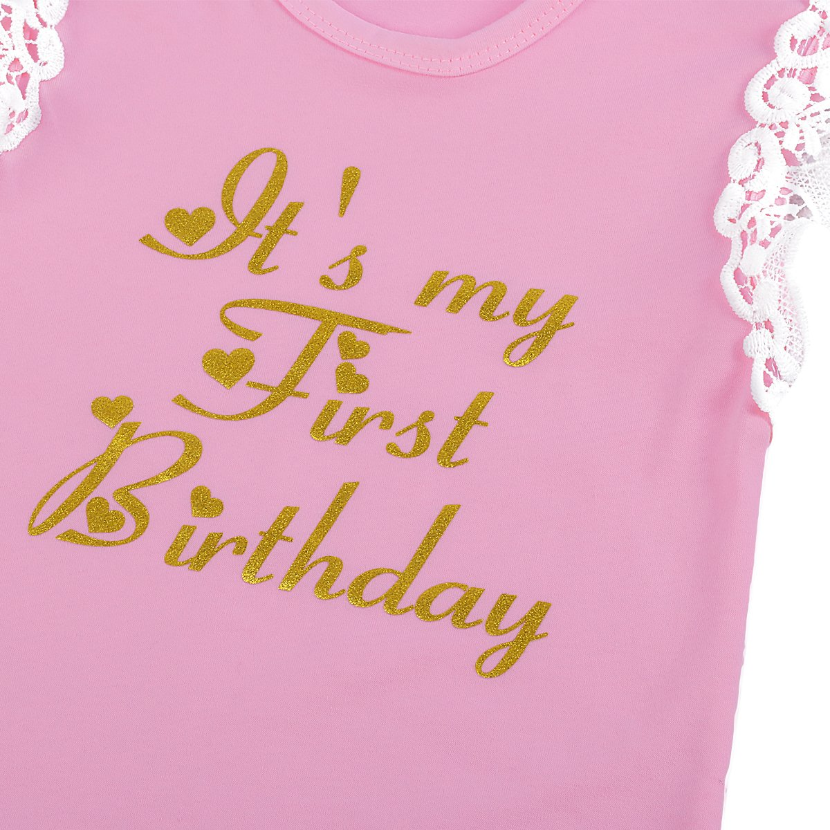 Baby Girl Cake Smash First Birthday Romper Tutu Dress Unicorn Bodysuit One Piece Clothes