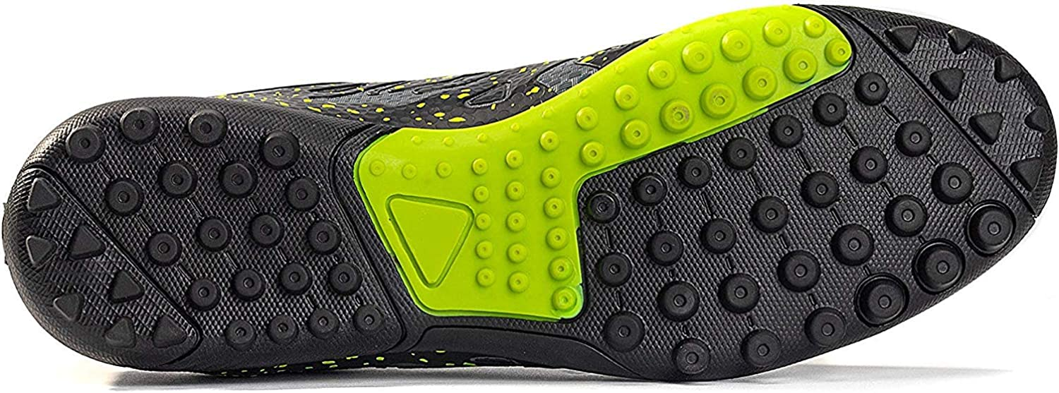 ROONASN Mens Athletic Turf Soccer Cleats Football Boots Outdoor//Indoor Sports Shoes