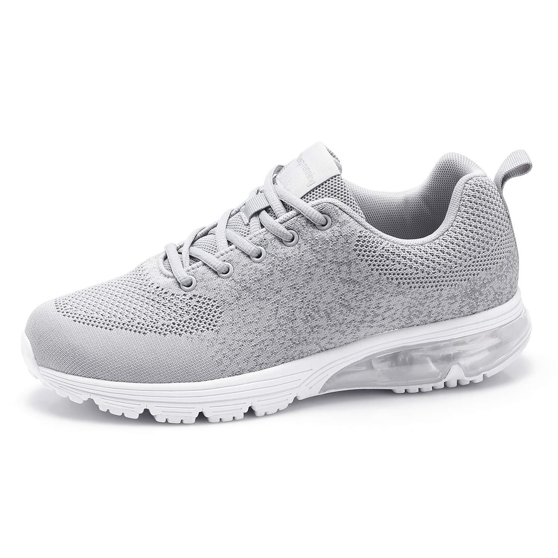 Goalsse Hommes Femmes Chaussures de Course Baskets Sports Running Fitness Shoes Respirantes Plein Air Sneaker Mesh Baskets Occasionnels