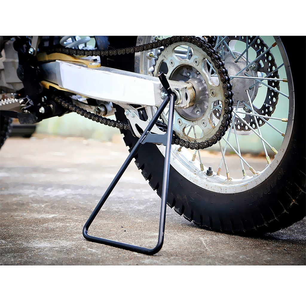 Homyl Heavy Duty Steel Motorcycle Gold Triangle Stand Dirt Bike Universal Fit