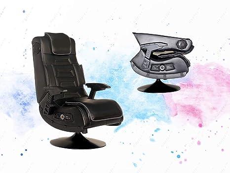 Astounding Amazon Com Guplus Pro Series Pedestal 2 1 Video Gaming Bralicious Painted Fabric Chair Ideas Braliciousco