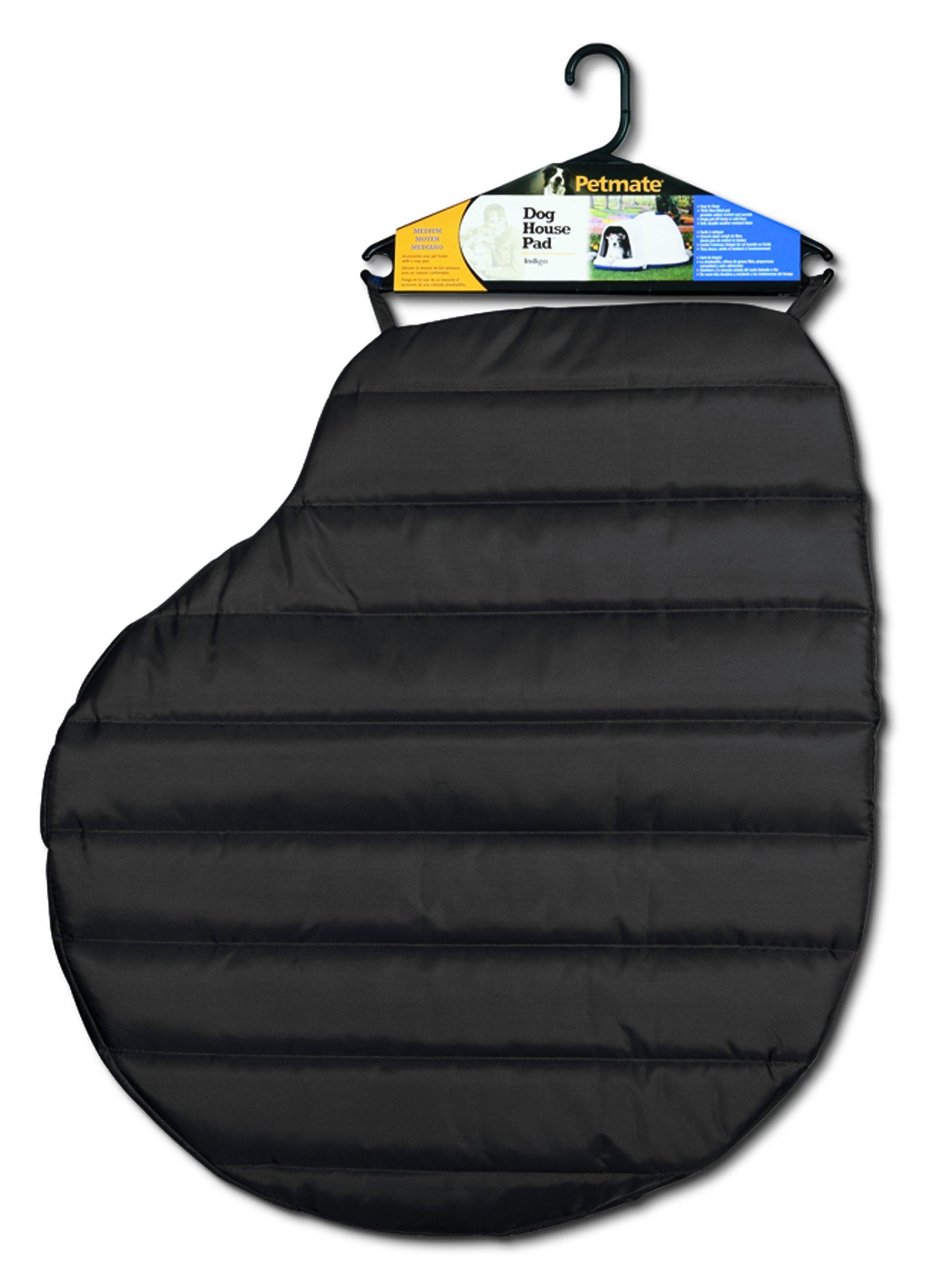 Petmate Quilted Indigo Nylon Pad, 50-90 lb, Black by Petmate