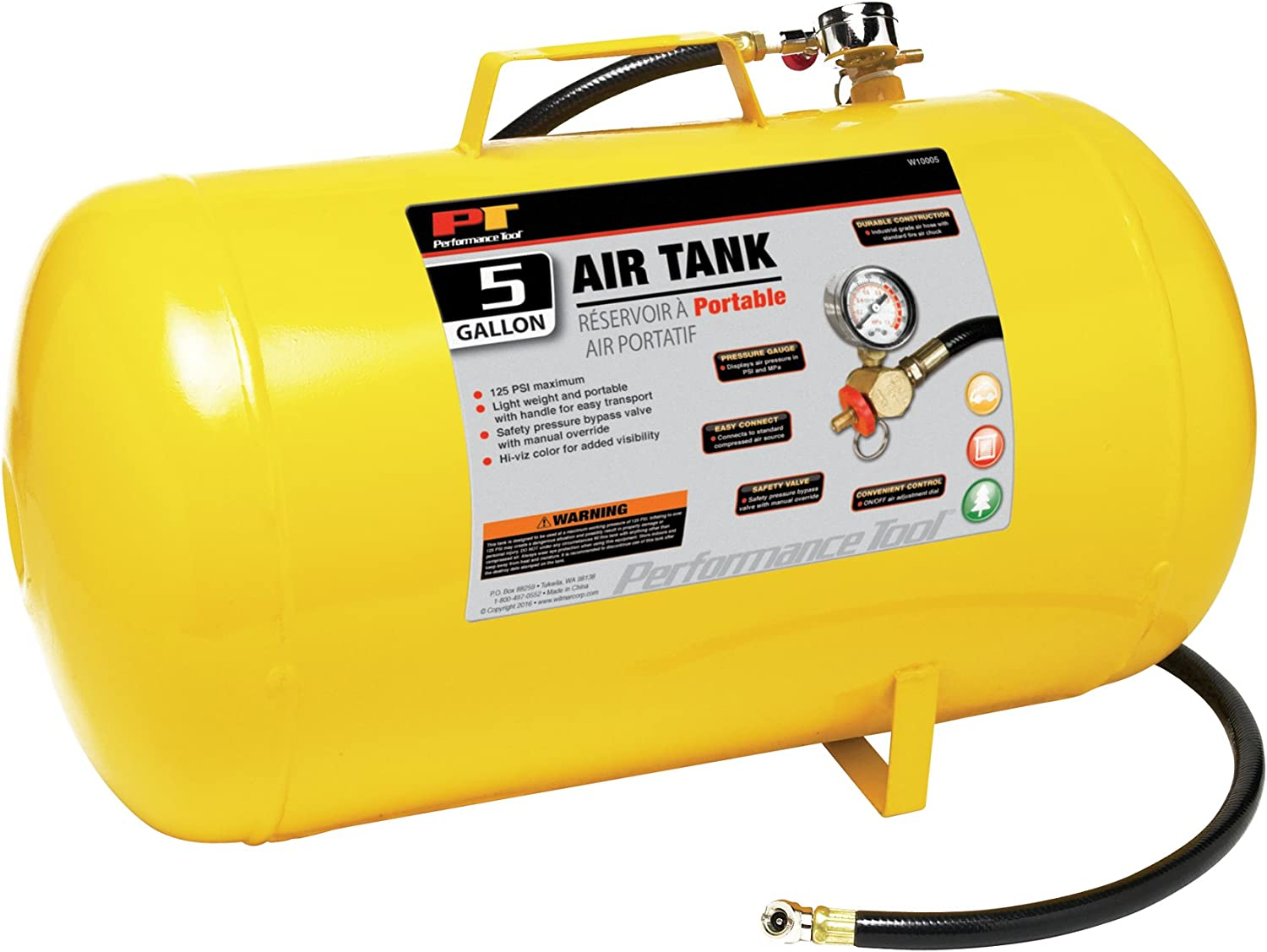 Performance Tool Portable Air Tank