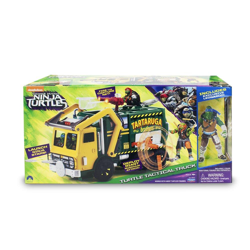 Tortugas Ninja - Camión con Figura (Giochi Preziosi TUV60000)