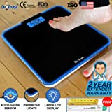 Dr Trust (USA) Electronic Supernova Digital Personal Weighing Scale for Body Weight with Digital Thermometer and Measuring Tape