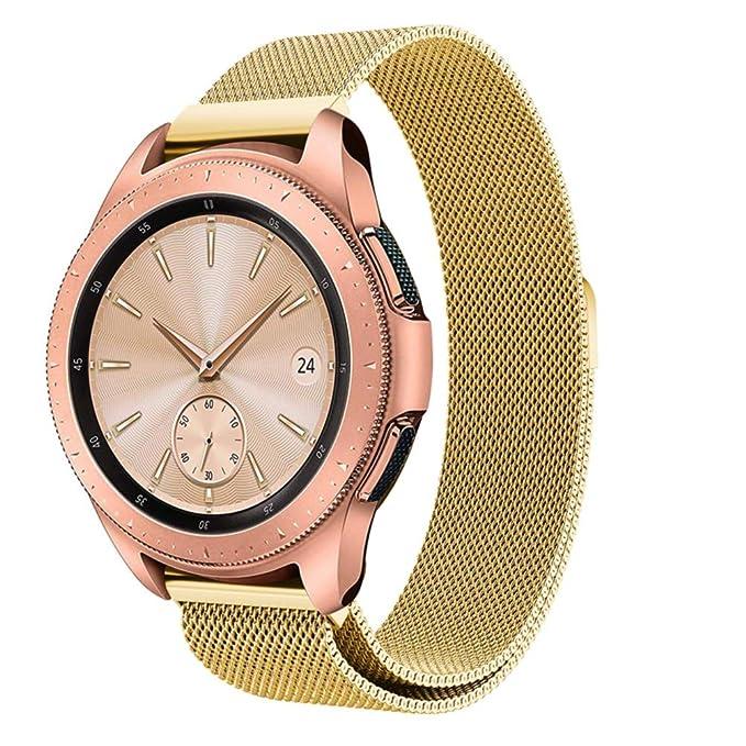 Samsung Galaxy Watch 42 mm 46 mm Milanese Band Reakle 20 mm ...