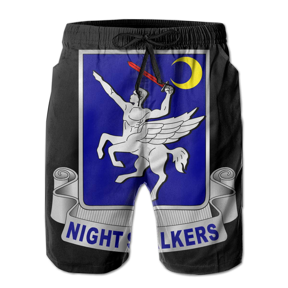 You Know And Good 160th Special Operations Aviation Regiment Mens Swim Trunks Bathing Suit Beach Shorts