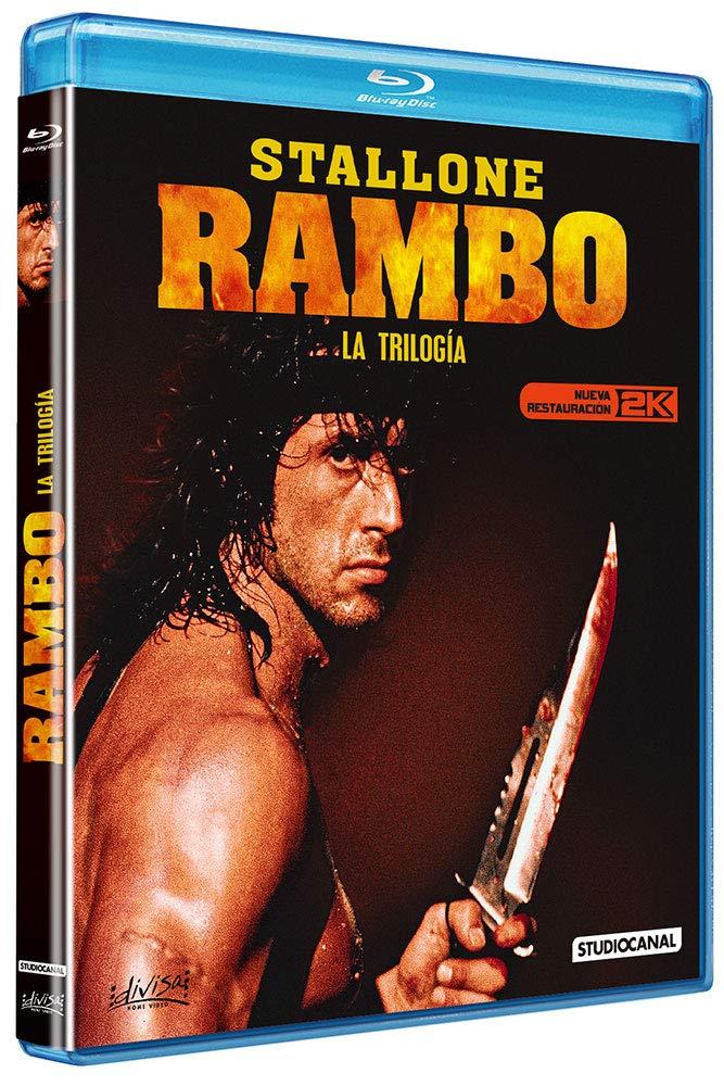 Rambo - La Trilogía [Blu-ray]: Amazon.es: Sylvester Stallone, Richard Crenna, Brian Dennehy, Charles Napier, Kurtwood Smith, Ted Kotcheff, George Pan, Sylvester Stallone, Richard Crenna: Cine y Series TV