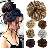Amazon Price History for:Lelinta Hair Bun Extensions Wavy Curly Messy Hair Extensions Donut Hair Chignons Hair Piece Wig Hairpiece