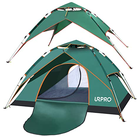 2-4 Person Instant Pop-Up Tent Camping Outdoor Family Hiking Shelter Waterproof