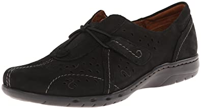 Rockport Cobb Hill Women's Paula CH Flat, Black, ...