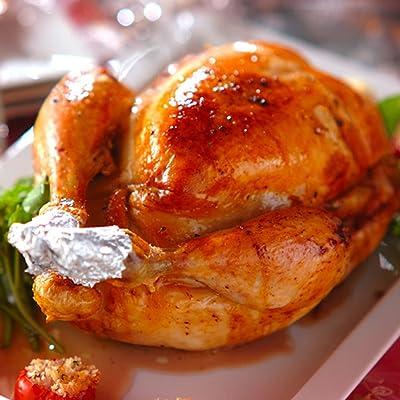 肉料理『うし源』クリスマス ローストチキン ビッグサイズ 焼きあがり約1.4kg!
