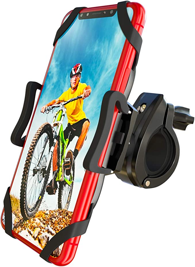 Adjustable Cell Phone Holder Motorcycle Bicycle Handlebar Mount for Universal