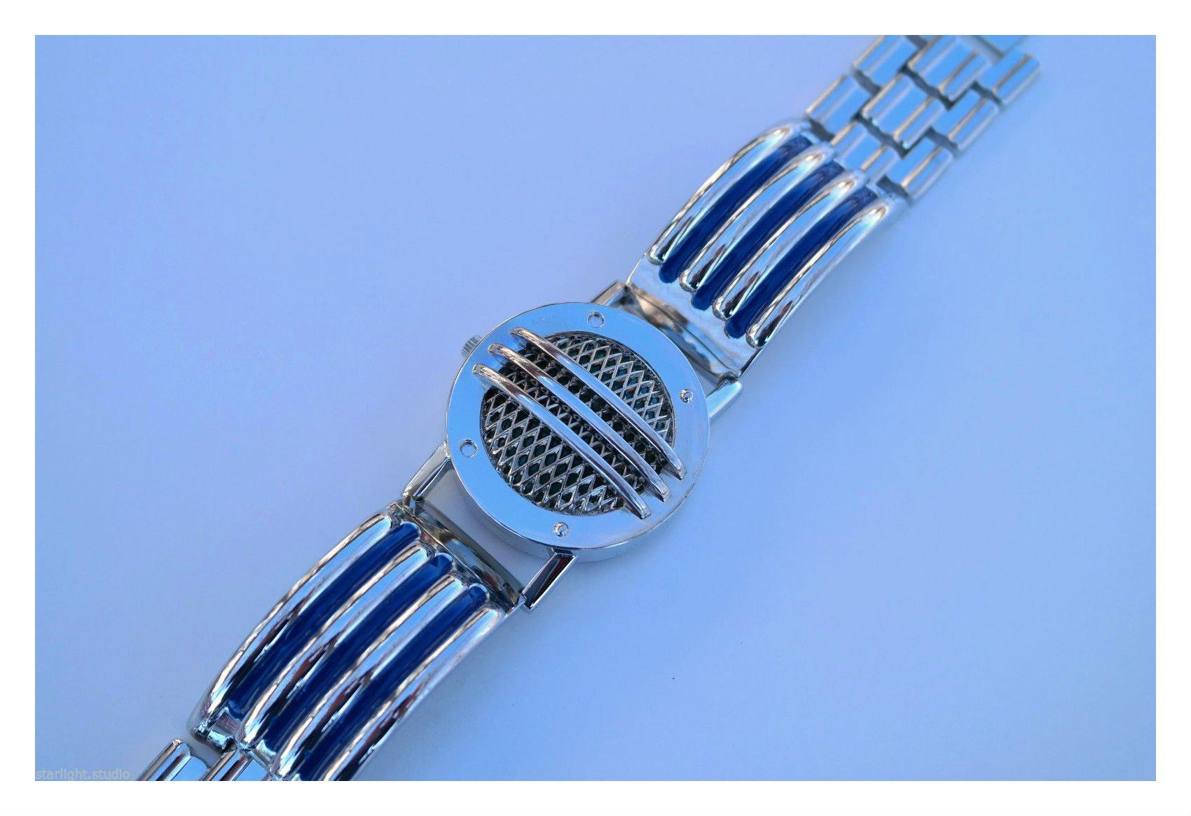 Communicator Blue Metal Ranger Bracelet Cosplay Prop Power Novelty