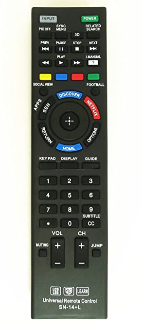 sony smart tv remote. new sony universal remote control for all brand tv, smart tv - 1 year tv e
