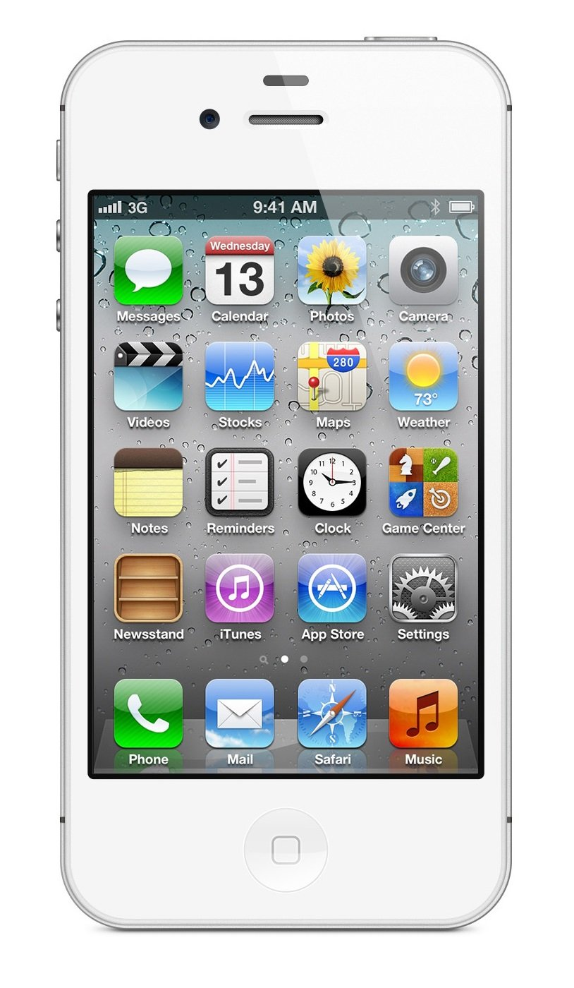 apple iphone 4s 16gb unlocked white certified. Black Bedroom Furniture Sets. Home Design Ideas