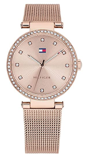 Amazon.com: Tommy Hilfiger Rose Gold Stainless Steel Watch-1781865: Watches