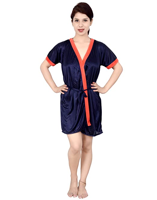 1a756a5e37 Rajan & Traders Satin Nighty Best for Women And Girl | Satin Night Dress  for Women ...