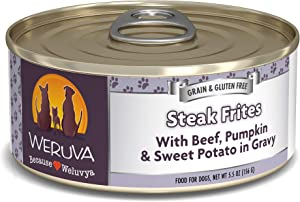 Weruva Grain-Free Natural Canned Wet Dog Food