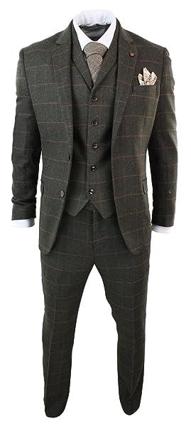 Amazon.com: Cavani - Traje de lana para hombre, diseño de ...
