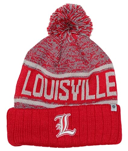 100% authentic 7e8e6 6c1c5 Image Unavailable. Image not available for. Color  Louisville Cardinals  NCAA Top of the World  quot Acid Rain 2 quot  Cuffed Knit Hat
