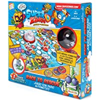 SuperZings- Professor K Juego de Mesa – Race to Rescue-Castellano (CEF21651), (Cefa Toys 21651)