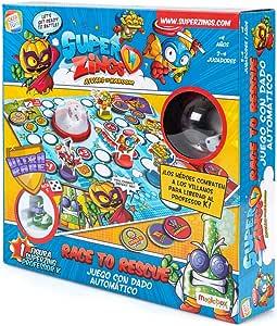 SuperZings- Professor K Juego de Mesa – Race to Rescue-Castellano (CEF21651), Multicolor (Cefa Toys 21651) , color/modelo surtido: Amazon.es: Juguetes y juegos