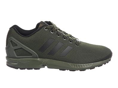 tout neuf b300d 8c5bf adidas - ZX Flux Homme, Vert (Vert/Noir/Blanc), 44.5 EU ...