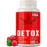 Complete Body Cleanse - Made in United States - Natural, Healthy Cleansing Support for Liver, Urinary Tract, Kidney, Digestiv