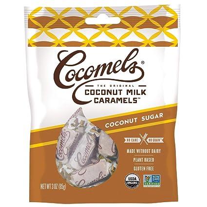 Cocomels Kosher - Caramelos para azúcar de coco (sin leche ...
