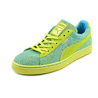 PUMA Womens Suede Classic Sneaker  Sulphur Spring Blue 11 M US